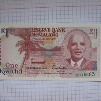 1 квача Малави unc