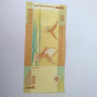 1 фунт, Судан, 2006, пресс, Unc, оригинал