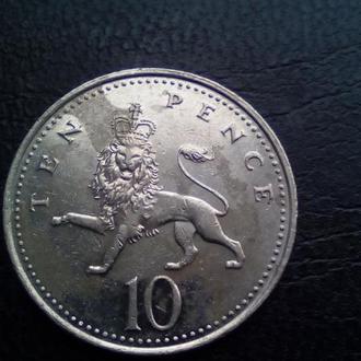 10 пенсів 2005 рік
