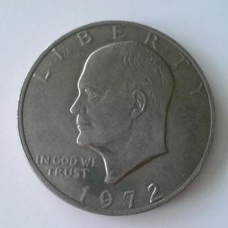 One dollar liberty 1972