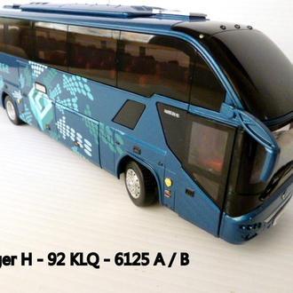 Модель. Автобус 1:43 Yutong-H-92
