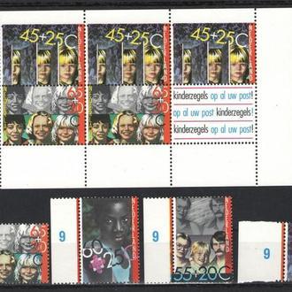Нидерланды - дети 1981 - Michel Nr. 1193-96, Bl. 23 **