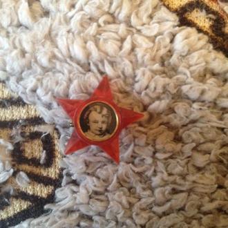 октябренок Ленин звездочка значек октябренка