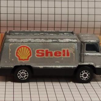 Corgi Junior 1:64 Petrol Tanker SHELL модель бензовоз Шелл Великобритания 1976 1977 1978 1979 1980