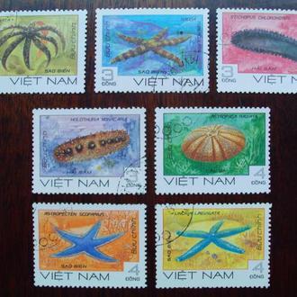Вьетнам.1985г. Морская фауна. Полная серия.