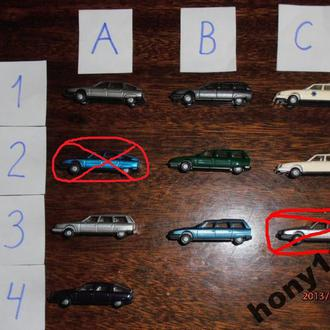 Автомобили Citroen CX фирмы Praline M 1:87 H0