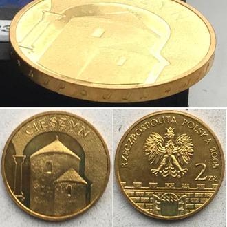 Польша 2 злотых, 2005 г. Древние города Польши - Цешин / Юбилейные монеты