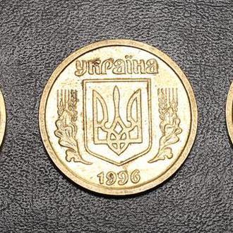 Україна 1 гривня 1996 р. Украина 1 гривна 1996 г. 1АБ4.1-3