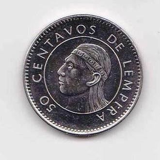 Гондурас  2005  г - 50 сентавос - 2а скана