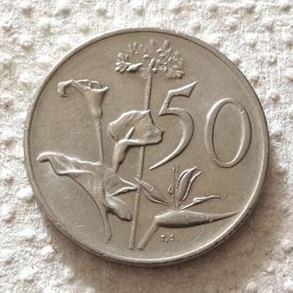 50 центов, 1978 г  ЮАР