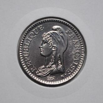 Франция 1 франк 1992 г., '200 лет Французской Республике'
