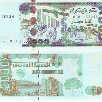 2000 динар 2011 Алжир UNC