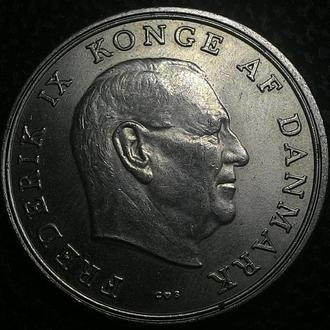 Дания 5 крон 1967 год ОТЛИЧНОЕ СОСТОЯНИЕ!!