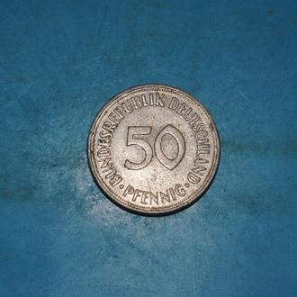 50 пфеннинг 1950 г ФРГ