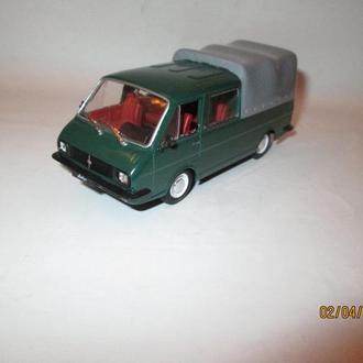 РАФ 3311 2203 Латвия пикап грузовик ДеАгостини Автолегенды СССР модель 1:43 ал анс тент