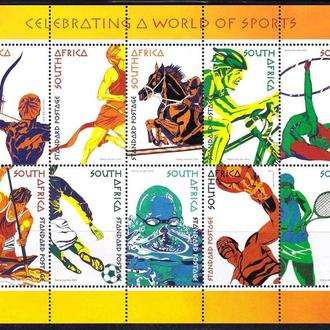 Футбол. SA / ЮАР 2004 г MNH -