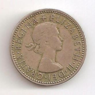 Великобритания 1 Шиллинг / Shilling 1963