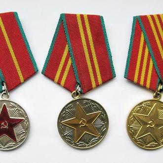 10, 15, 20 ЛЕТ БЕЗУПРЕЧНОЙ СЛУЖБЫ = ВС СССР