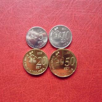 Малайзия набор монет 2012. UNC