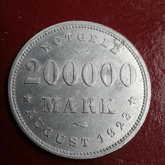 Германия, г. Гамбург, 200000 марок 1923 г.
