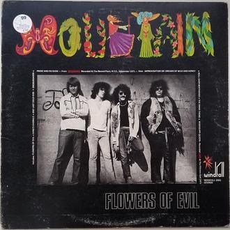 MOUNTAIN  Flowers Of Evil  LP VG/VG+