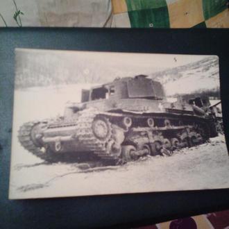 Фото угор.легк.танка-лютий 1945р.