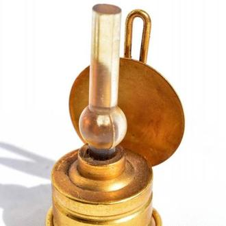 Коллекционная миниатюра,керосиновая лампа! Латунь! England!