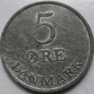 Дания 5 эре 1959 состояние