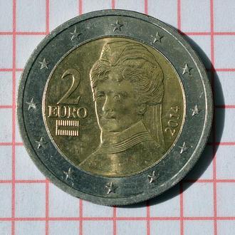 Австрия 2 евро 2014 из оборота