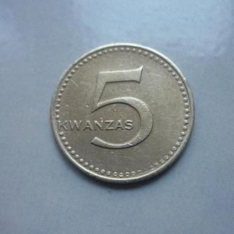 Ангола 5 кванза 1977 (правильная дата)
