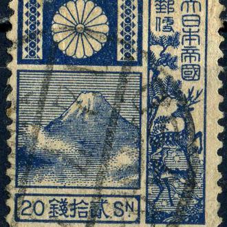 Япония. Гора Фудзи (концовка) 1922 г.
