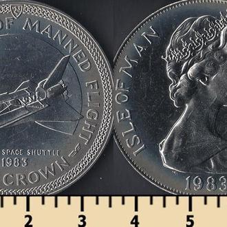 Мэн остров 1 крона 1983