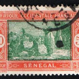 Сенегал (1914) Колония Франции. Рынок