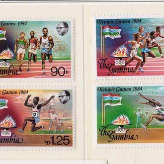 ЛОИ . Гамбия 1984 г MNH -