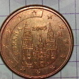 Испания 1 евроцент, 2005