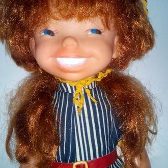 Кукла Пеппи длинный чулок 50см ф-ка Победа СССР