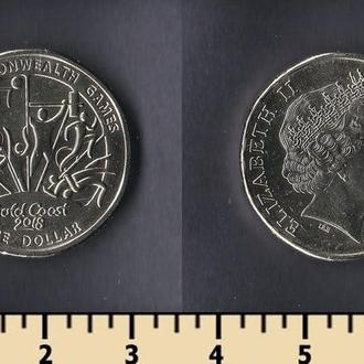 Австралия 1 доллар 2018