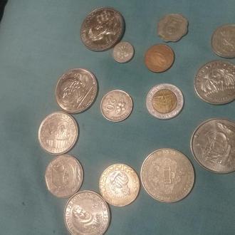 монеты португалии+разные+5ть грн