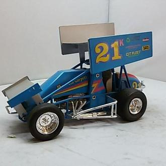 Sprint car racing 1:24 цвета