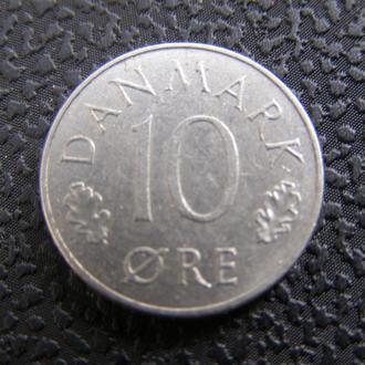 10 эре Дания 1973