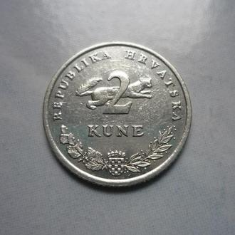 Хорватия 2 куны 2005 фауна