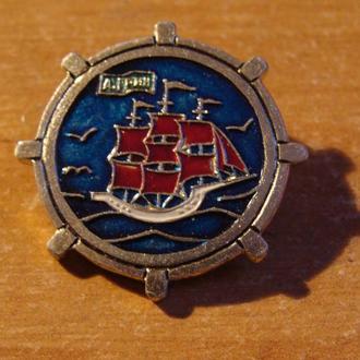 корабль парусник Грин