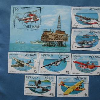 Вьетнам 1987 год, авиация
