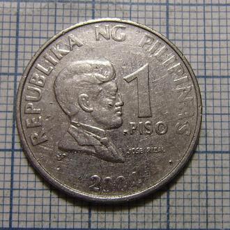 Филиппины, 1 песо 2004 г.