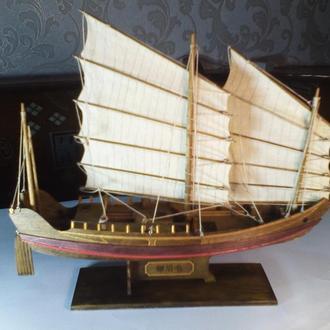 """Модель корабля """"Китайская джонка"""""""