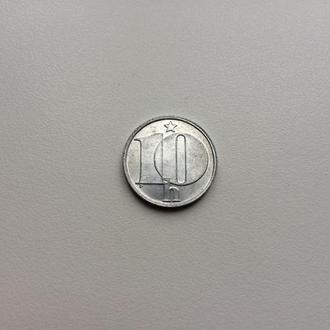 Чехословакия 10 геллеров 1986