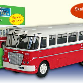 Автобус Ikarus 620 (1952) (DeAgostini KULTOWE AUTA PRL 1/72)