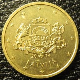 50 євроцентів 2014 Латвія
