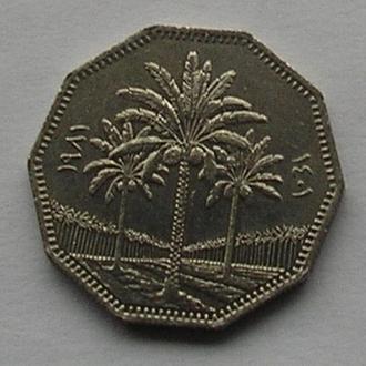 Ирак 1 динар пальмы