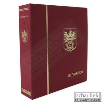 Альбом Schaubek Австрія під ілюстровані листи (+ футляр)